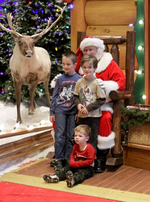 Santa at Bass Pro Shops