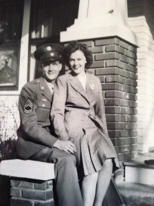 WWII couple