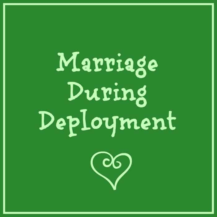 marriages during deployments