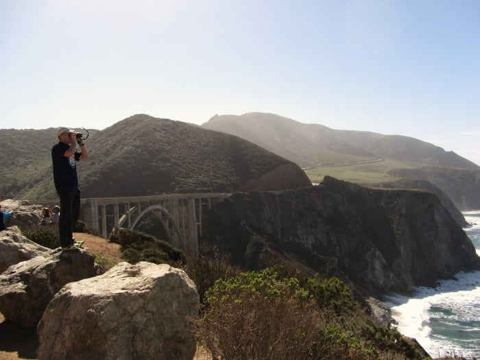 If you are stationed in Monterey, plan to spend time exploring Highway 1 at Big Sur. In the winter, you can spot whales in the ocean while photographing Bixby Bridge, one of the most photographic bridges along the Pacific Coast.