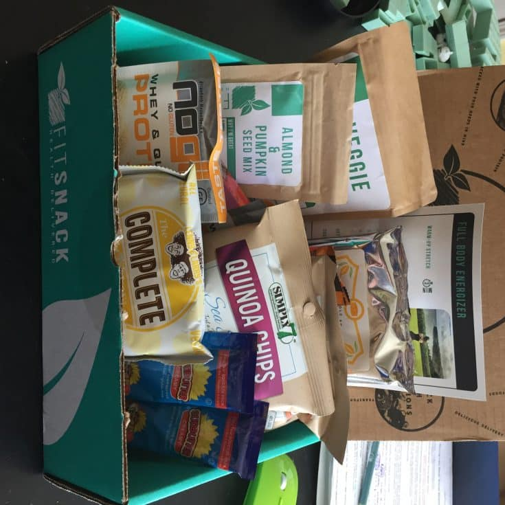 Fit Snack Monthly Box Review