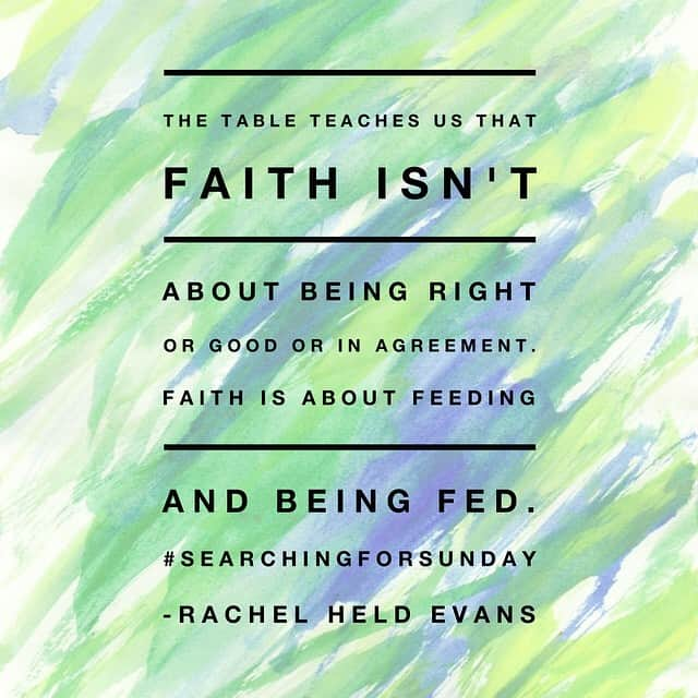 Searching For Sunday By Rachel Held Evans Book Review