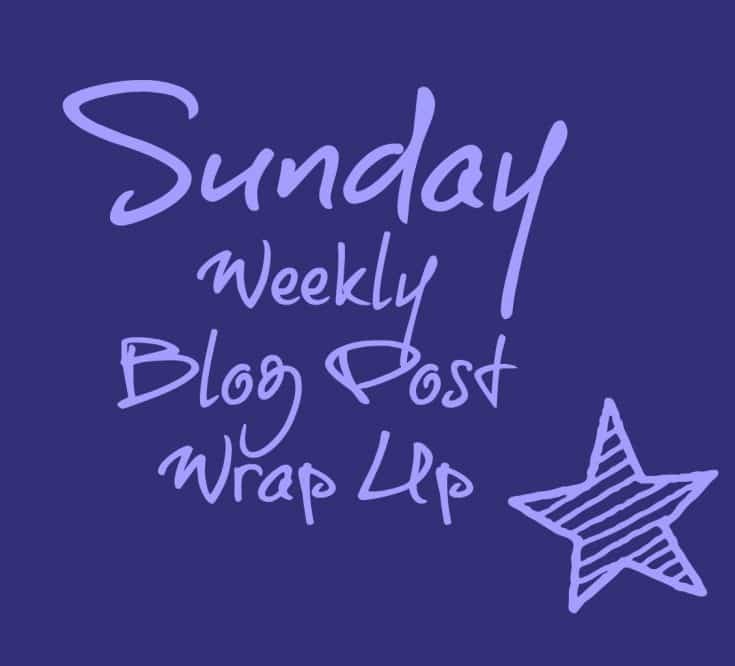 Sunday Weekly Blog Post Wrap Up {2}