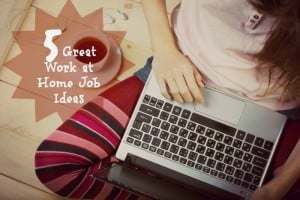 5 Great Work at Home Job Ideas