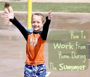 How To Work From Home During The Summer