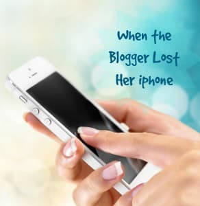 When the Blogger Lost Her iphone