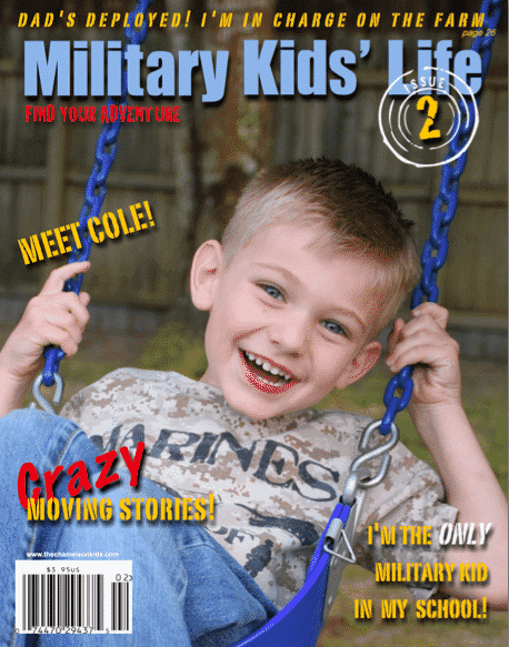 Chameleon Kids and The Military Kids' Life Magazine