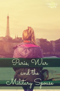 Paris, War and the Military Spouse