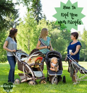 How To Find New Mom Friends
