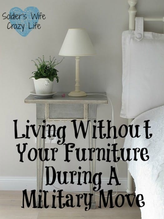 Living Without Your Furniture During A Military Move