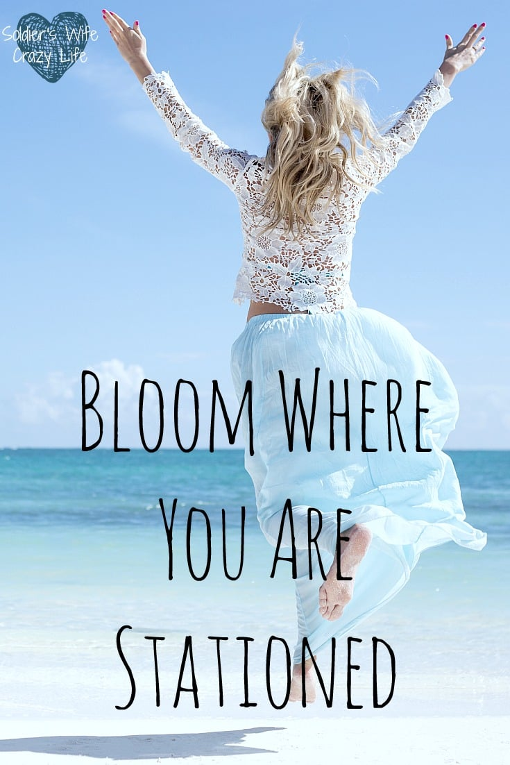 Bloom Where You Are Stationed