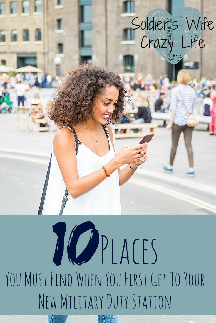 10 places you must find when you first get to your new