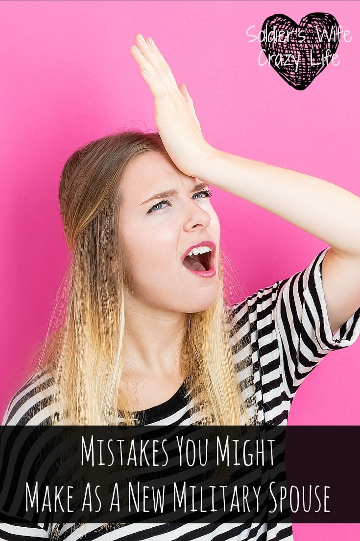 Mistakes You Might Make As A New Military Spouse