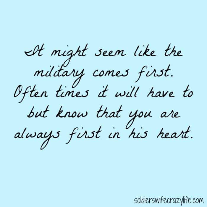 being a military wife Yes- i married someone in the army but i am so sick of being surrounded by  women who literally base their entire existence on being an army.