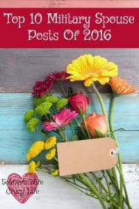 Top 10 Military Spouse Posts Of 2016