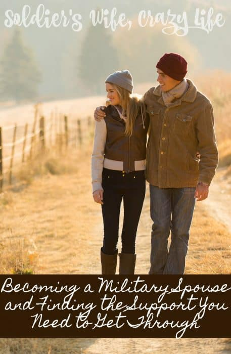 Becoming a Military Spouse and Finding the Support You Need to Get Through