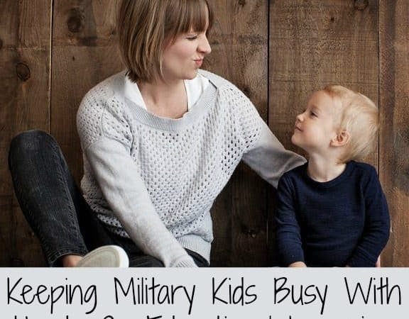 Keeping Military Kids Busy With Hands On Educational Learning + A Giveaway