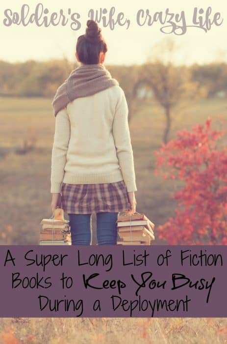 A Super Long List of Fiction Books to Keep You Busy During a Deployment