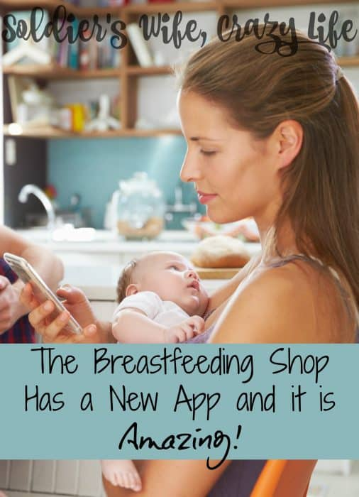 The Breastfeeding Shop Has a New App and it is Amazing