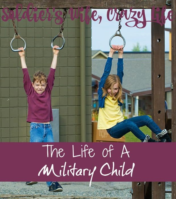 The life of a military child