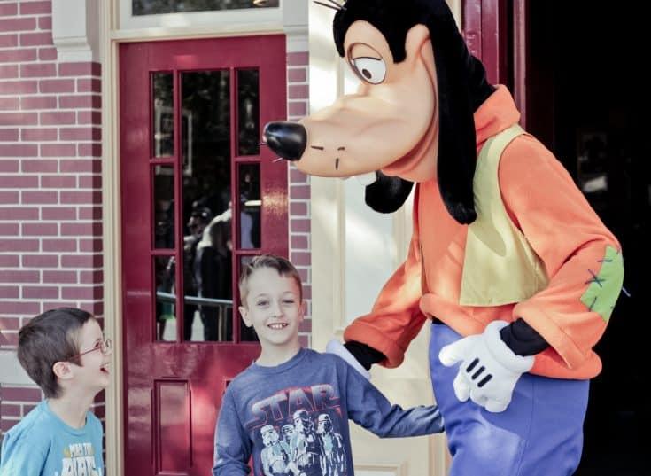 A trip to Disneyland