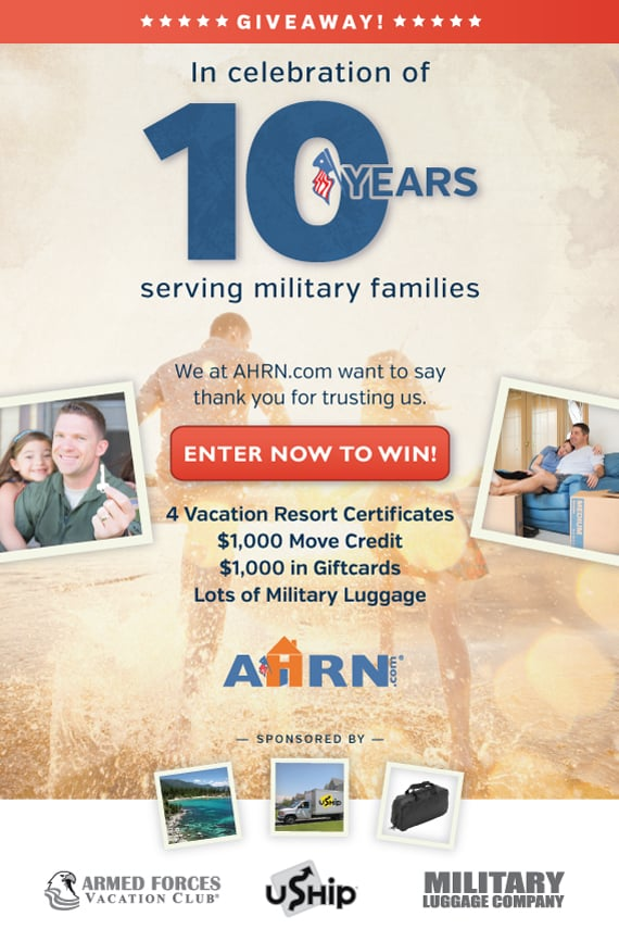 AHRN Giveaways And Win A $50 giftcard to MilitaryLuggage.com