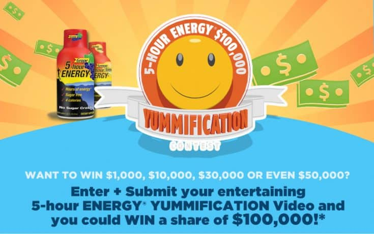 """5-hour ENERGY® """"Yummification"""" Contest and Giveaway"""