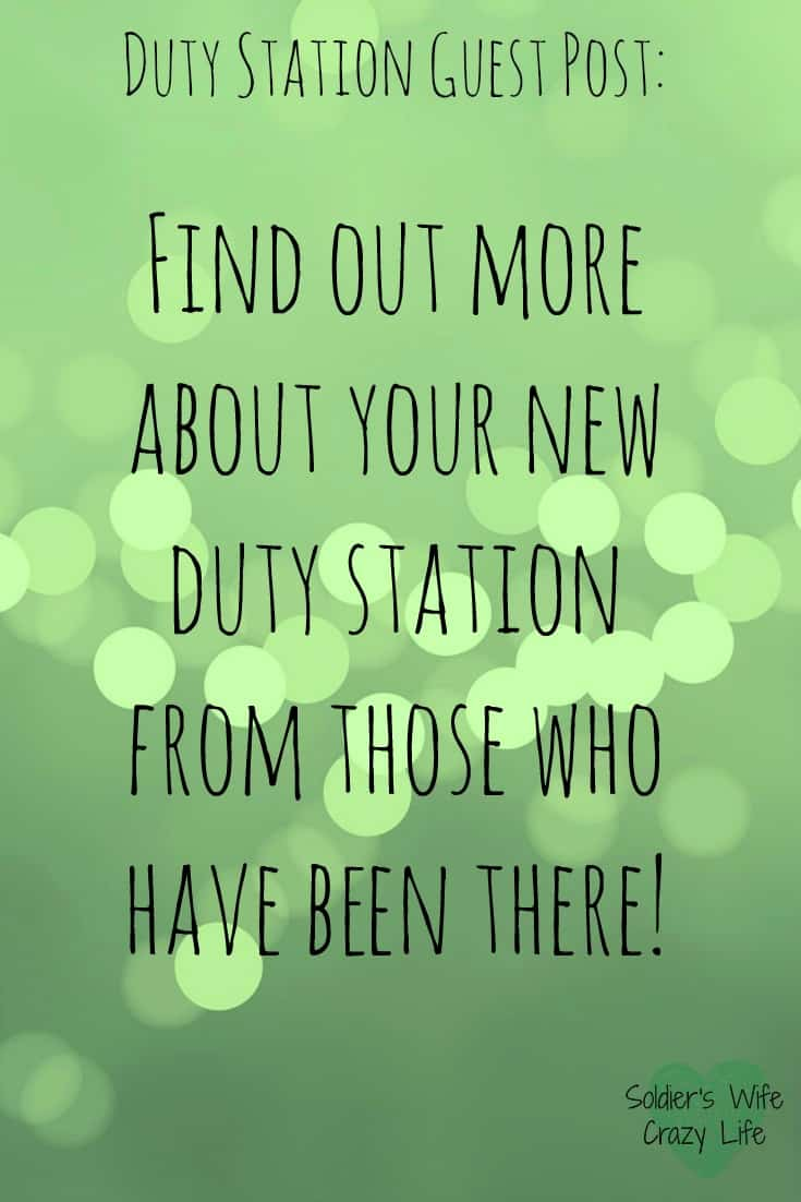 military duty stations