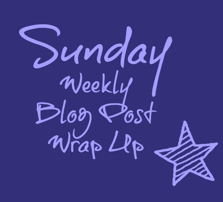 Sunday Weekly Blog Post Wrap Up {2}