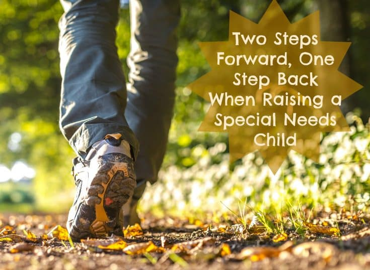 Two Steps Forward, One Step Back When Raising a Special Needs Child