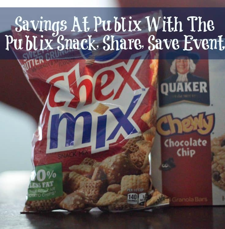 Find You Savings At Publix With The Publix Snack, Share, Save Event And Giveaway