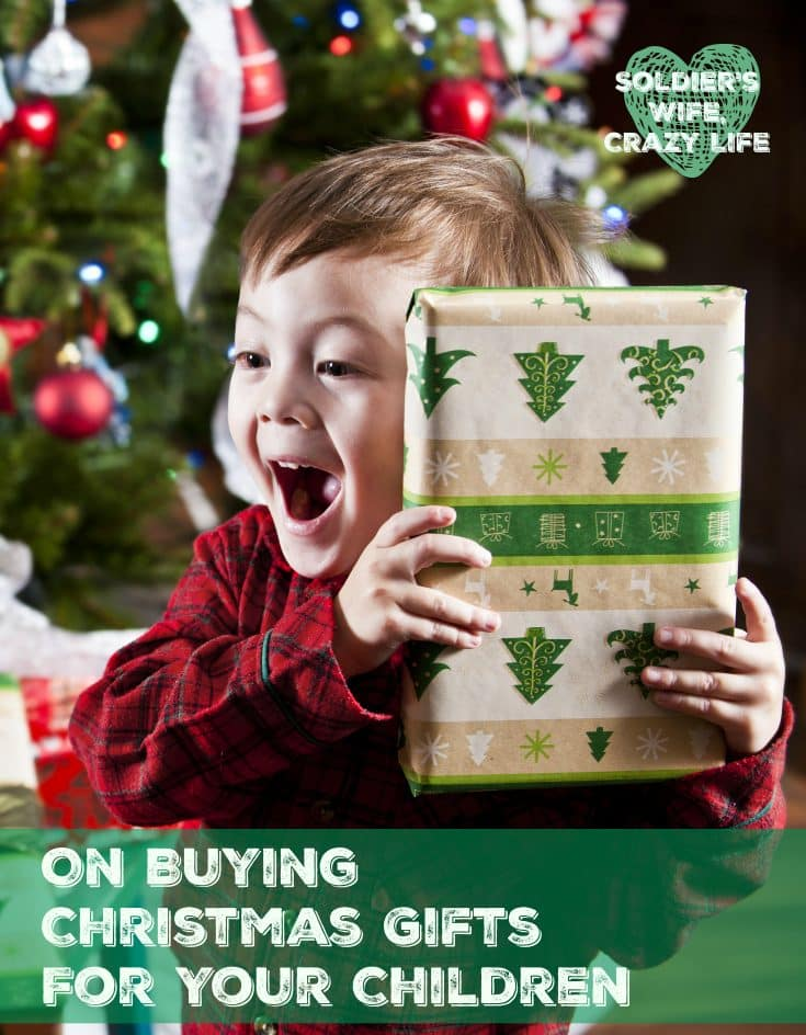 On Buying Christmas Gifts For Your Children