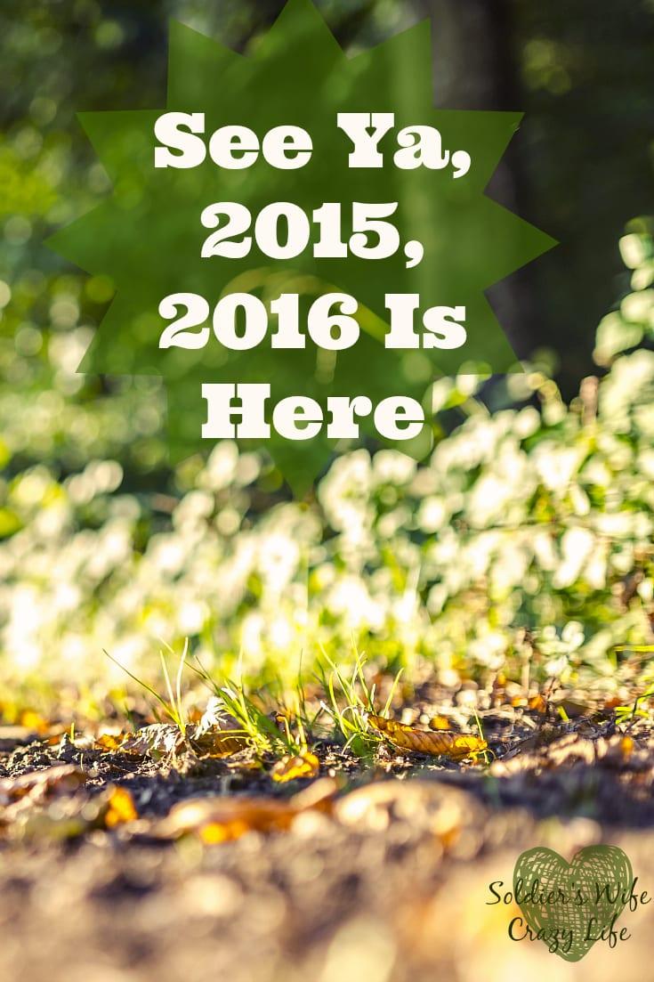 See Ya, 2015, 2016 Is Here