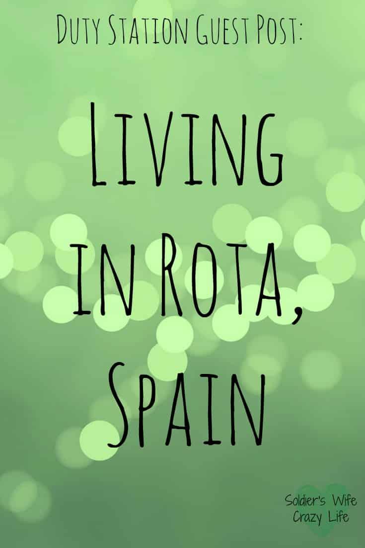 Living in Rota, Spain