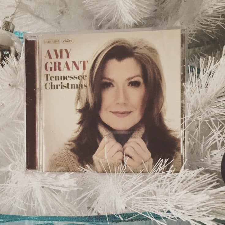 Amy Grant's Tennessee Christmas CD Review and Giveaway