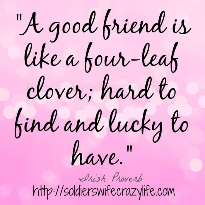 Military friendships