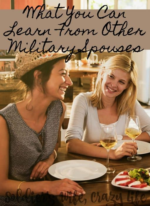 What You Can Learn From Other Military Spouses
