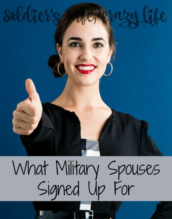 What Military Spouses Signed Up For