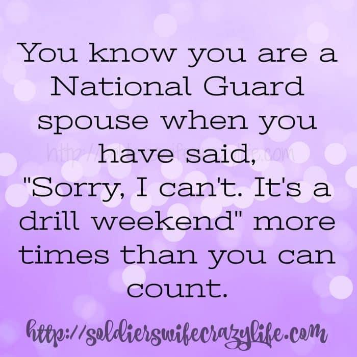 National Guard spouses