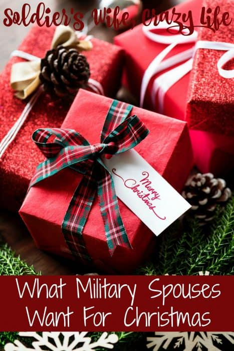 What Military Spouses Want For Christmas