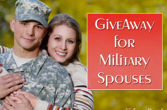 This Giveaway for Military Spouses is Fantastic