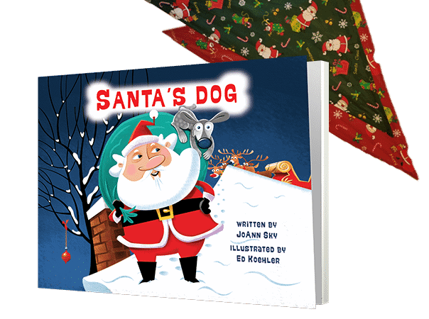 Santa's Dog and Bandana Giveaway